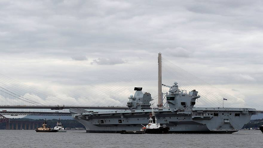 UK's new aircraft carrier is a 'convenient target', sneers Russia