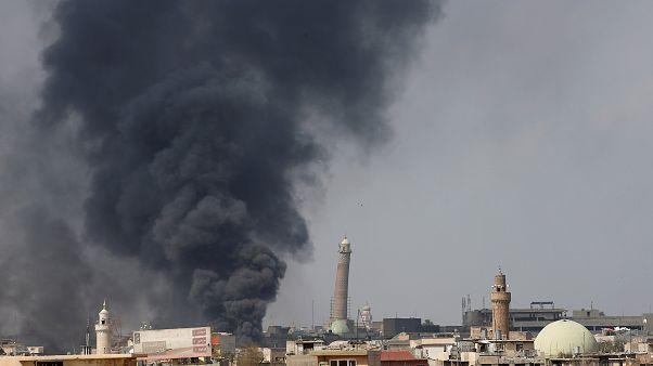 ارتش عراق مسجد نوری را از داعش پس گرفت