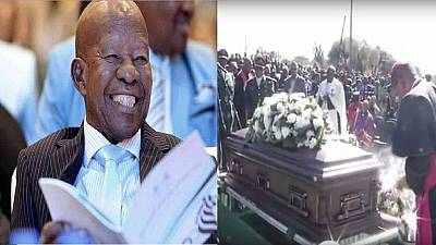 Laughter and memories fill funeral of ex-Botswana President Masire
