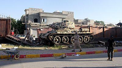 Gunmen open fire on U.N. convoy in Libya