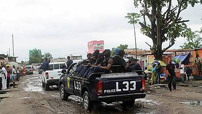 DRC: le commissariat de Kalamu attaqué à Kinshasa