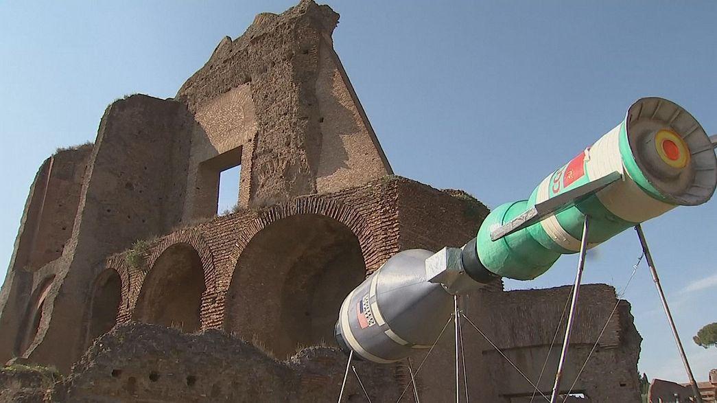 Le clash de l'antique et du contemporain à Rome