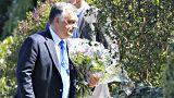 Orbán elmegy Kohl gyászszertartására, de beszédet nem mond