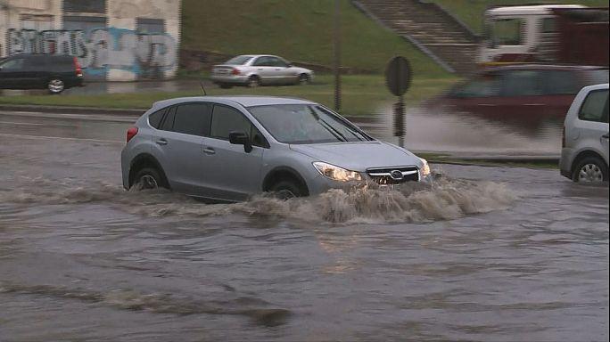 Aşırı yağışlar Polonya ve Litvanya'da etkili oldu