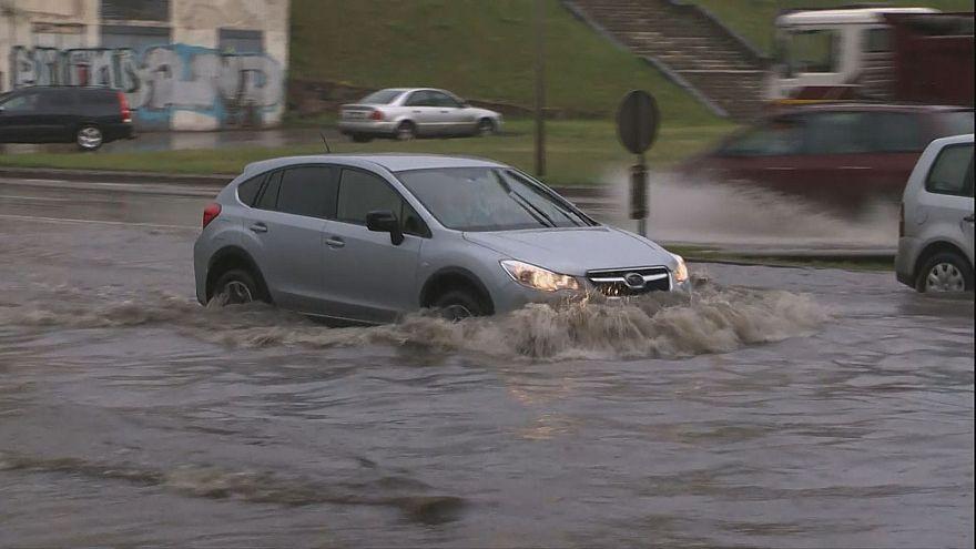 Inondations en Pologne et en Lituanie