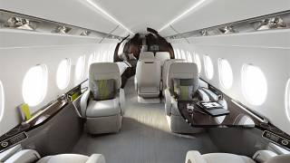 Flying a Falcon corporate jet