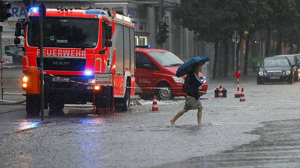 How social media captured Berlin's heaviest rain for 60 years
