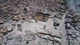 Watch: Drone captures ruins of landmark Mosul mosque