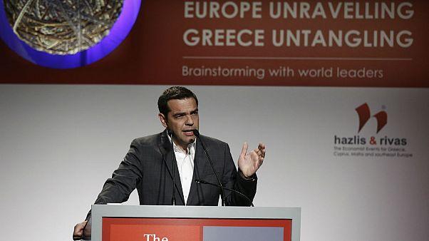 Αλέξης Τσίπρας:«Η Ελλάδα βγαίνει στις αγορές - Αποχαιρετά οριστικά τα μνημόνια»