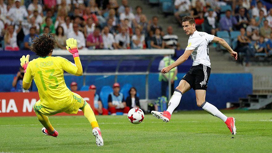 ألمانيا تكتسح المكسيك برباعية وتلاقي تشيلي في النهائي