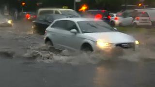 Floods in Germany amid thunderstorms and heavy rain