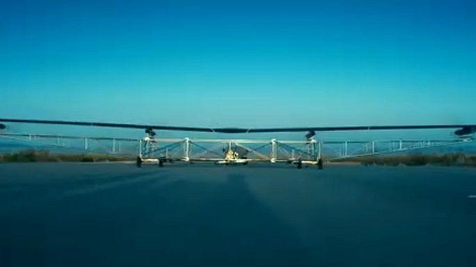 Megint repült a Facebook drónja