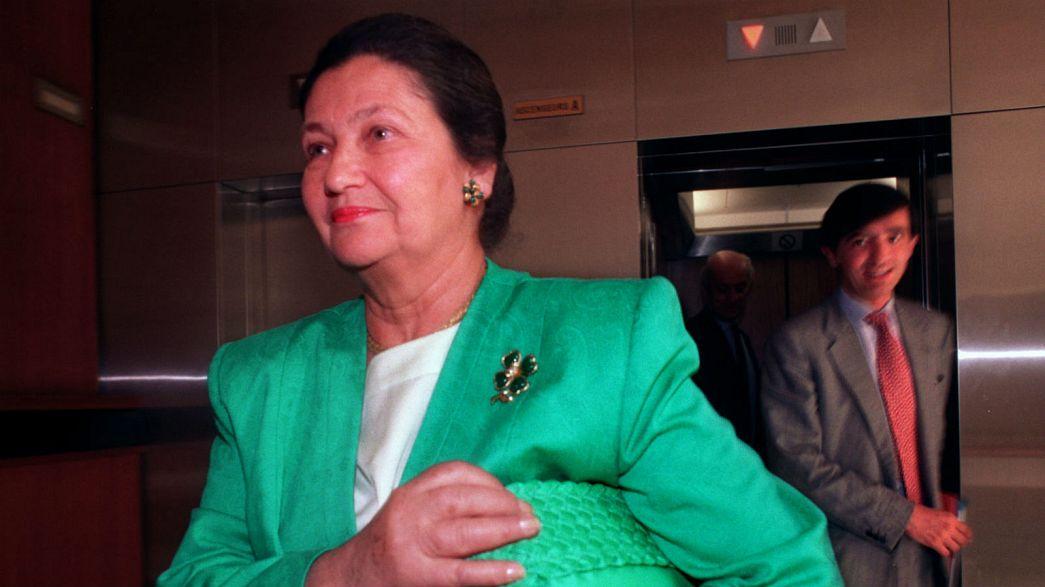 Simone Veil ha muerto. La exministra francesa había logrado la legalización del aborto en 1974 y era una superviviente de la Shoah