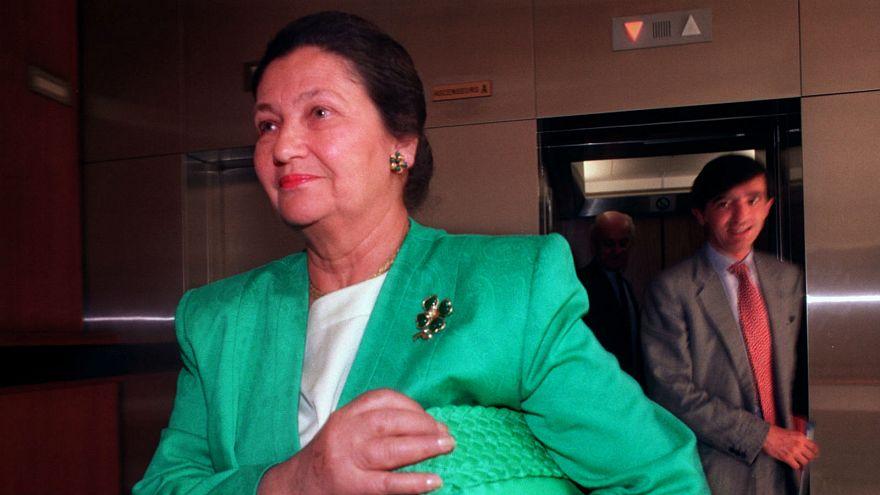 سیمون وی از رهبران جنبش رفع تبعیض علیه زنان در فرانسه درگذشت