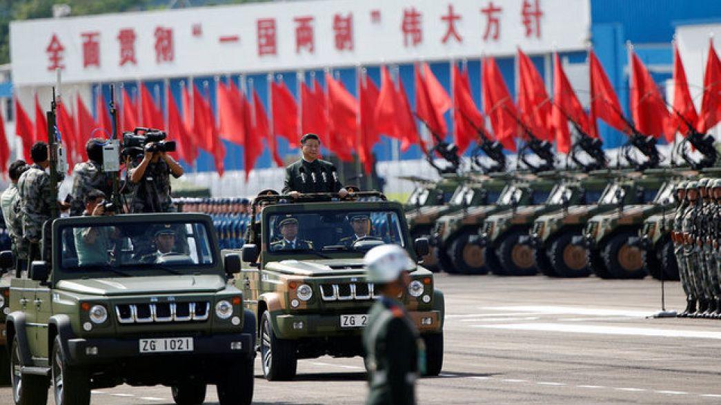 Çin lideri: Hog Kong'la bir ülke iki yönetim modelimiz değişmeyecek