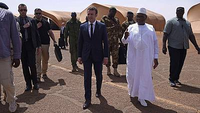 France's president returns to Mali to back regional force