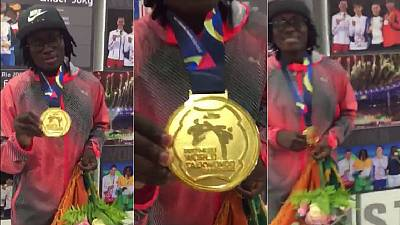 Ivorian Ruth Gbagbi bags gold at World Taekwondo championship