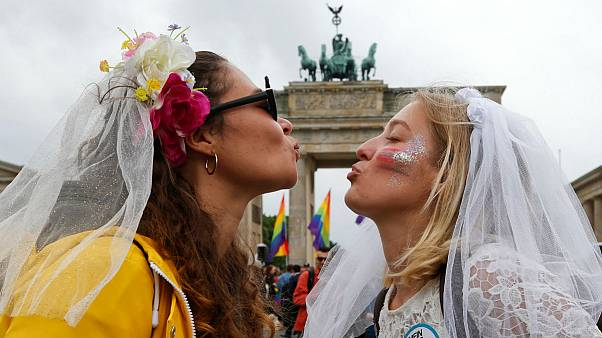 Which countries are out of touch with citizens on gay marriage?