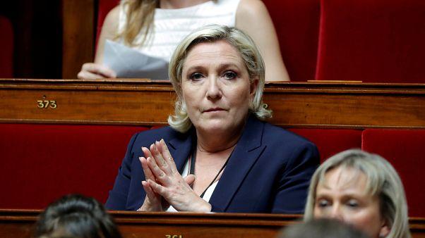 France's Marine Le Pen placed under formal investigation
