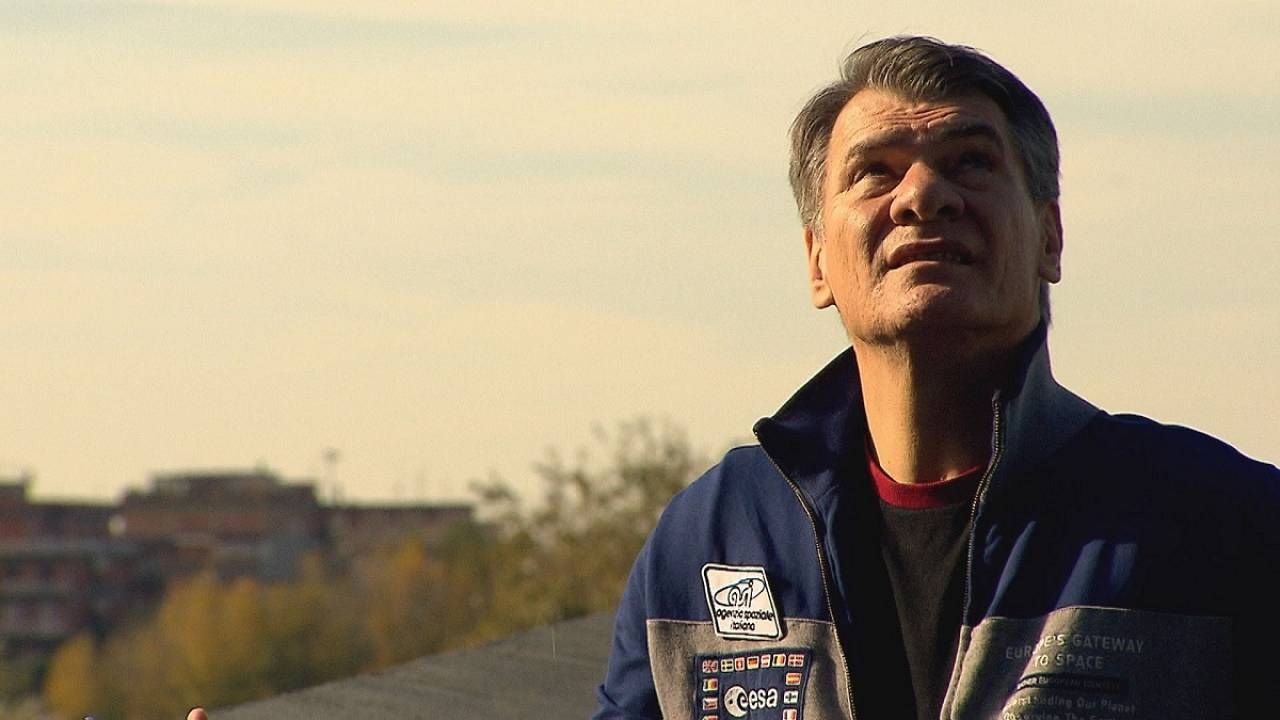 Voyaging back into space at 60: Paolo Nespoli