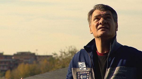 60 yaşındaki İtalyan astronot Paolo Nespoli'nin uzaya 3. yolculuğu