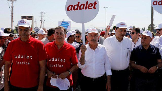 Türkei: 430 Kilometer für Gerechtigkeit