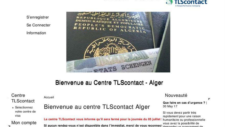 الطلاق بين القنصلية الفرنسية ومركز دراسة طلبات التأشيرة تي أل أس