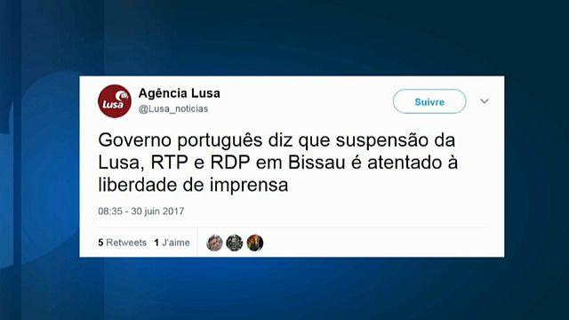 """Portugal acusa Guiné-Bissau de """"atentado à liberdade de imprensa"""""""