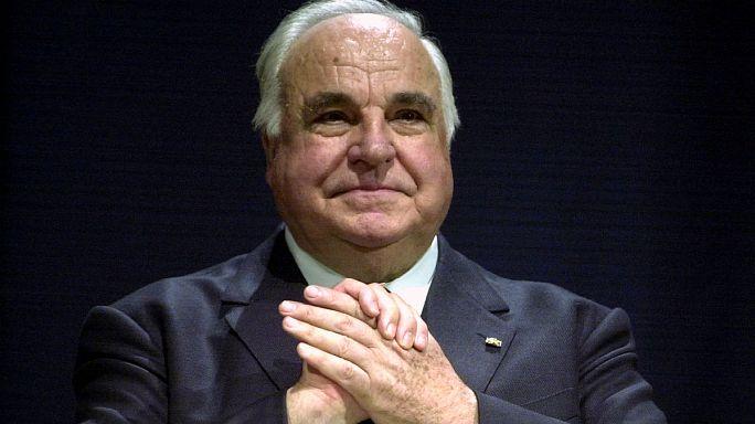 L'Europa dà l'ultimo saluto a Helmut Kohl