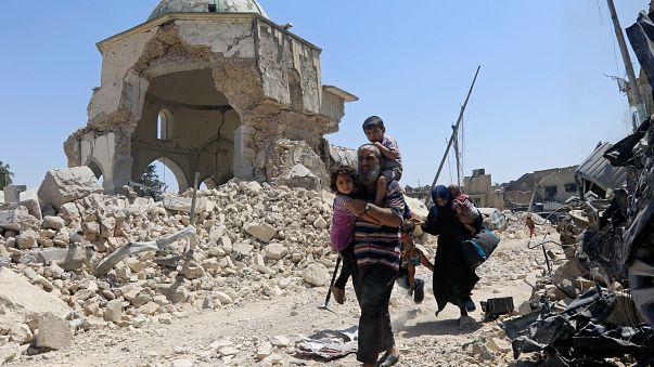 Irak - Syrie : l'Etat islamique encerclé à Mossoul et Raqqa