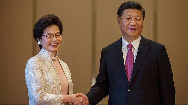 Hongkong visszatérését ünnepelték