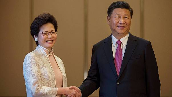 Xi Jinping warns of ''red line'' as Hong Kong marks 20 years of Chinese rule