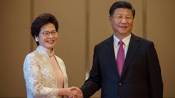 Hong Kong'un yeni liderinden Çin'e bağlılık yemini