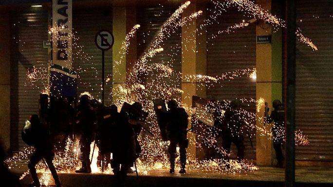 Brezilya'da işçilerden reform protestosu