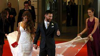شاهد حفل زفاف نجم المنتخب الارجنتيني ونادي برشلونة ليونيل ميسي