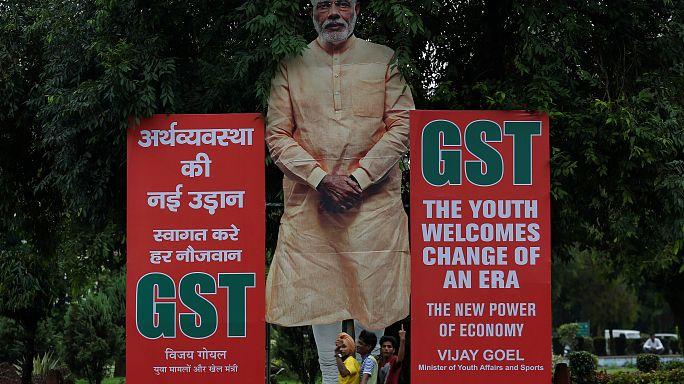 Índia vive revolução fiscal