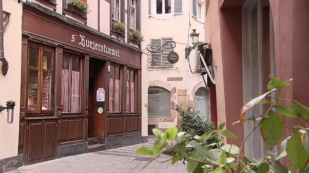 To...εστιατόριο του Χέλμουτ Κολ στο Στρασβούργο