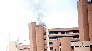 Nigeria: Abuja Federal Secretariat on Fire