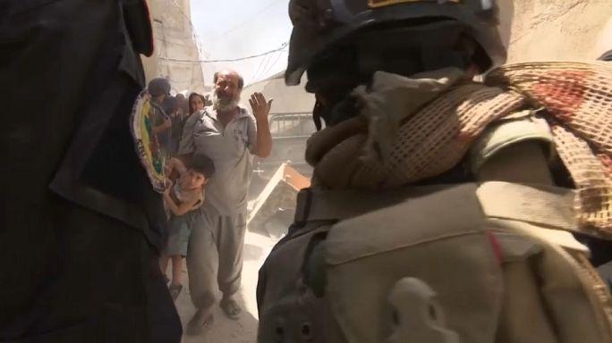 Irak ordusunun Musul'daki ilerleyişi sürüyor