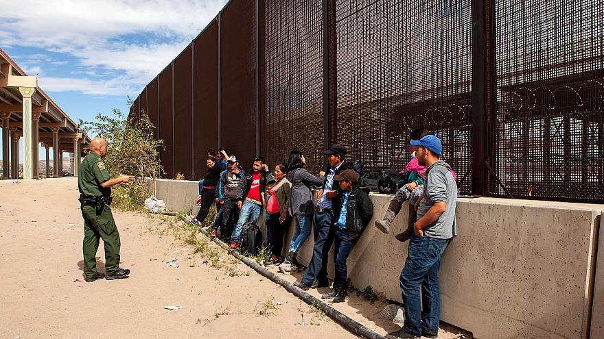 Image: U.S. Customs And Border Protection Agency Holding Detained Migrants