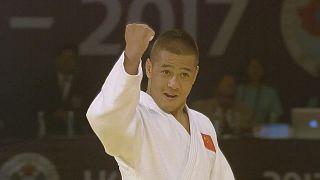 China vibra con Saiyinjirigala en el Gran Prix de Judo de Hohhot.