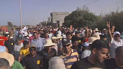 Les habitants de Gabès protestent contre les usines de phosphate