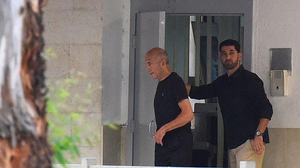 Israel ex-PM Ehud Olmert freed from prison