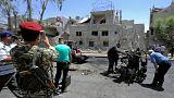 تفجير انتحاري في دمشق يودي بحياة 18 شخصا واحباط تفجيرين انتحاريين آخريْن