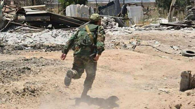 القوات السورية تنفي استخدامها لغاز الكلور في عين ترما