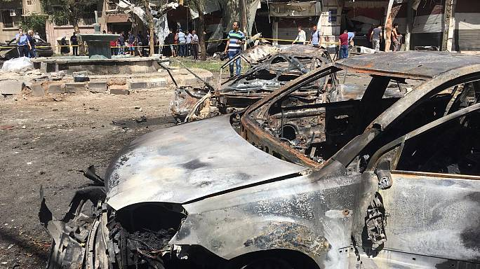 Syria suicide blast: mulitple casualties after explosion rocks central Damascus