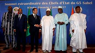 French President in Mali to consolidate backing for regional anti-jihadist force