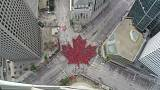Watch: City's human maple leaf to mark Canada's 150th birthday
