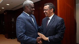 New WHO chief - Ethiopian Dr Tedros - calls on AU as he assumes office
