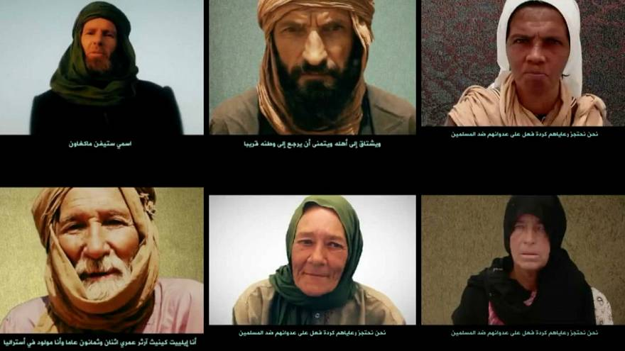 تزامنا مع قمة إفريقية ضد الإرهاب تنظيم القاعدة يبث فيديو للأجانب المخطوفين